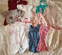 Baby Girl Summer Bundle- 12-18 Months- Dress/Romper/Jumpsuit/Playsuit