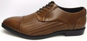Kenneth Cole New York Size 9.5 Brown Leather Oxfords New Mens Shoes