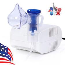 6ML Portable Compressor Nebulizer Home Health Care 120V 5 Pcs Spare Air Filter