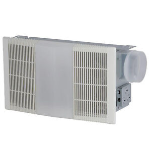 NuTone 665RP 70 CFM Ceiling Exhaust Fan with Light Heater
