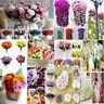 15heads Silk Rose Flower Bouquet Flower Handmade Bridal Wedding Party Home Decor