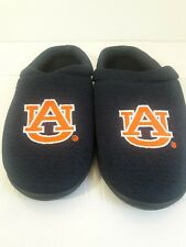 Forever Collectibles men's L (11-12)Knit Polyester Fabric Auburn Tigers slippers