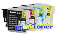 LC980/LC1100 COMPATIBLE INK FOR BROTHER DCP-J140W,145C,165C,185C,195C,197C,365CN