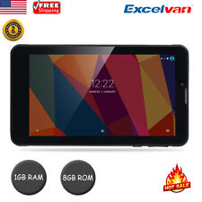 "7.0"" Tablet PC Android 6.0 MTK8321 Quad Core 1G+8G 3G Dual SIM WIFI BT 2800mAh"