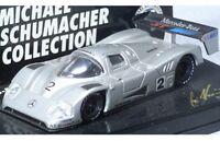 MINICHAMPS Michael Schumacher Collection Mercedes Benz model race cars 1:64th