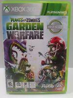 Plants vs. Zombies: Garden Warfare (Microsoft Xbox 360, 2014)