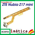 Flex Load For ZTE Nubia Z17 Mini Plate Micro USB Microphone Connector Blade