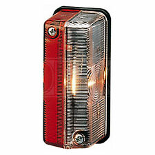 Marker Lamp: Marker Lamp White/Red 12v INC Bulb | HELLA 2XS 005 020-057