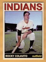 Rocky Colavito Cleveland Indians Monarch Corona Private Stock #21 NM+ cond.