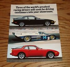 Original 1986 Porsche 944 / 944 Turbo Direct Mail Program Sales Brochure 86