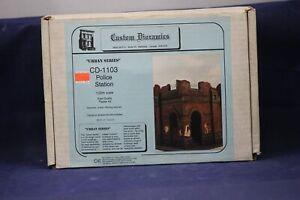 Custom Dioramics Police Station Urban Series WW11 Ruin 1/35 Scale