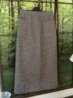Ladies Poetry Size 8 Skirt Wool Linen and Silk