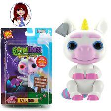 GRIMLINGS WOWWEE Fingerlings EVIL GIGI Unicorn Light Up 30 Sounds BRAND NEW BOX!