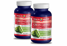 Slim Fast - GREEN COFFE BEAN EXTRACT CLEANSE - Green Coffee Beans 2 Bottles