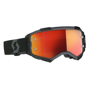 2021 SCOTT Goggle Fury Black, Orange Chrome Works MX, Enduro, MTB.