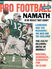 Dell Pro Football 1969 Joe Namath Jets EX 042116jhe