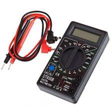 Multimètre Numérique Écran LCD Voltmètre Ampèremètre Testeur avec Câbles