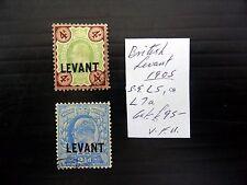 BRITISH LEVANT 1905 Ed.VII As Described NEW PRICE FP8592