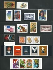 2018 US Commemorative Stamp Year Set Mint NH as the scans show