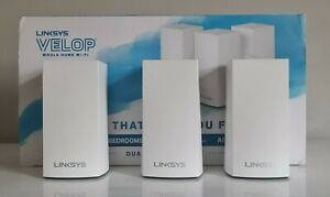 Linksys AC3600 Velop Whole Home Mesh WiFi System Dual-Band 3-Pack