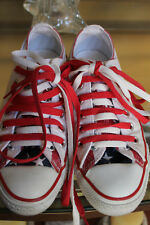 CONVERSE ALL STARS AMERICAN FLAG STARS AND STRIPES MENS 6 WOMENS 8 LOW TOPS