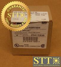 YAZ252TC14E190 BURNDY 2-HOLE LUG BAR 1/0 AWG PINK (BOX OF 10) NEW