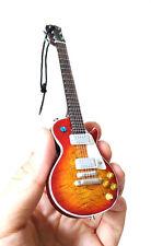 "Miniature Guitar Jimmy Page Led Zepplein 6"" Christmas Ornament SuperMini"