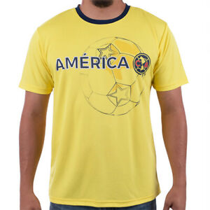CLUB AMERICA ADULT T-SHIRT/JERSEY 100% POLYESTER OFFICIALLY LICENSED