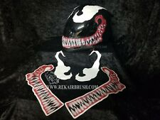 NEW EVIL SMILE with EYES DECALS FOR MOTORCYCLE HELMET