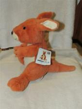 """Kohls Cares 10"""" Plush Eric Carle """"Does a Kangaroo have a Mother Too? TAG Excel"""