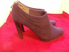 Coach Purple Heels Ankle Boots Size 9.