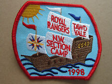 Royal Rangers Tawd Vale Camp 1998 Cloth Patch Badge Boy Scouts Scouting (L2K)