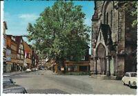 Ansichtskarte Postkarte Peine - Breite Straße mit Jacobi Kirche - Verlag Braune