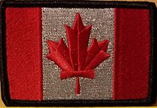 CANADA Flag Patch With VELCRO® Brand Fastener Tactical Morale Travel Emblem #7