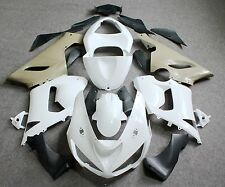 Unpainted ABS Injection Bodywork Fairing Kit for KAWASAKI ZX6R/636 2005 2006 Raw