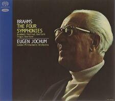 Brahms: 4 Symphonies [New SACD] Ltd Ed, Rmst, Hybrid SACD, Digipack Packaging,