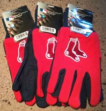 3 Prs. Boston Red Sox MLB Sports Utility Gloves Licensed FREE SHIPPING!!!   1C