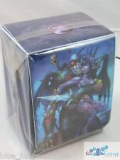 Undead Warlock with Blood Elf DECK BOX CARD BOX World of Warcraft or MTG cards