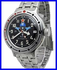 AMPHIBIA 200m VOSTOK AUTOMATIC MECHANICAL WATCH !NEW! 16 Es