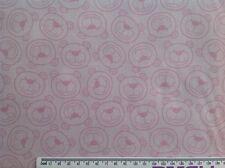 Print fabric(Happy Bear-All over)  Per Metre