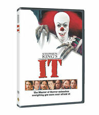 Stephen King's : IT DVD Region 4 (Classic horror 1990 orginal film) New & Sealed