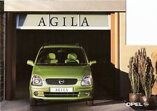 Prospetto/brochure OPEL AGILA 02/2000