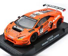 Racer Sideways Lamborghini Huracan GT3 Team Lazaruz Orange Slot Car