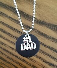 New Handmade #1 Dad Charm Necklace