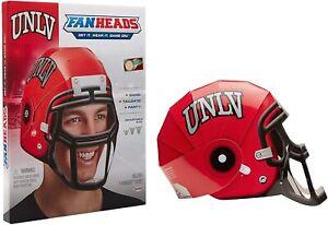 UNLV FanHeads Wearable College Football Helmets Fans Alumni Students Dorm Room