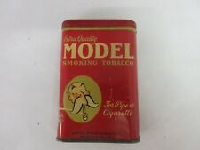 VINTAGE ADVERTISING TOBACCO MODEL RED VERTICAL POCKET TIN  330-P
