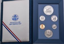1987 United States U.S. Silver Prestige Proof Set US Original