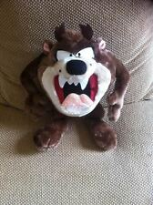 """Taz The Tasmanian Devil 12"""" Soft Plush Toy Figure by Applause 1994 Looney Tunes"""