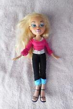"""Mga 2001 Bratz 10"""" Chloe Doll~Pink/Black Outfit"""