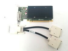 HP nVidia NVS300 512MB x16 PCI-E Dual Screen Video Card 632486-001 With Lead
